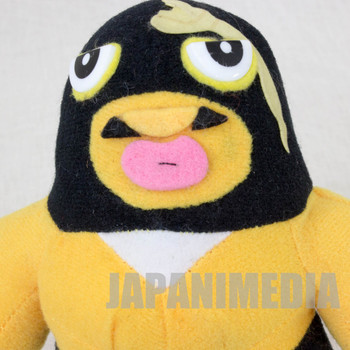 Tiger Mask Black Python Plush Doll JAPAN ANIME MANGA Pro Wrestling
