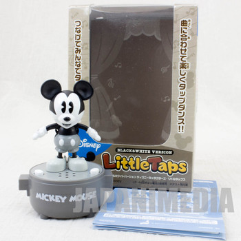 Disney Characters Mickey Mouse Monochrome Ver. Little Taps Sound Toy Figure