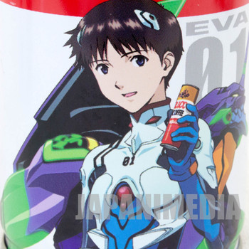 Set of 4 Evangelion UCC Steel Can Coffee Shinji Mari EVA01 Petit-Eva
