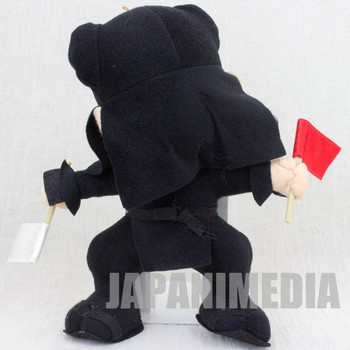 RARE! Samurai Spirits Kuroko Plush Doll SNK 1993 JAPAN GAME