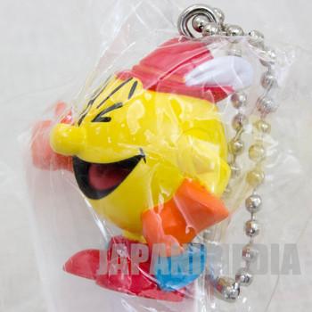 Retro RARE! Pac-land Pac-man Figure Ballchain Namco Collection JAPAN NES FAMICOM