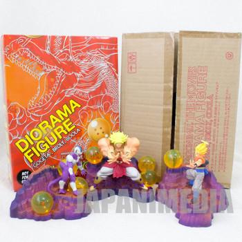 Dragon Ball Z Movie Diorama Figure Set Broly Gogeta Cooler JAPAN ANIME
