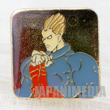 Night Warriors Vampire Hunter Savior Demitri Metal Pins Capcom Character JAPAN