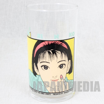 Retro RARE! PAPARINKO Glass Hisahi Eguchi Mister Donut JAPAN ANIME MANGA 3