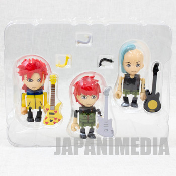 hide with Spread Beaver Mini Figure 3pc Set Play Box 01 J-Rock X-JAPAN