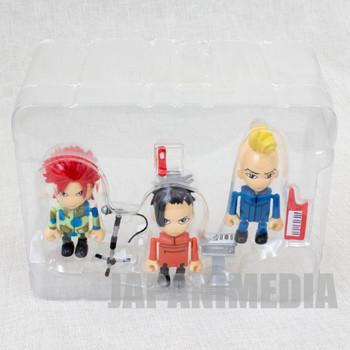 hide with Spread Beaver Mini Figure 3pc Set Play Box 03 J-Rock X-JAPAN