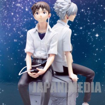 RARE! Evangelion Shinji Ikari School Uniform Premium Figure SEGA JAPAN ANIME