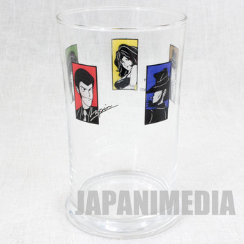 Lupin the Third 3rd Glass Esso Limited JAPAN ANIME