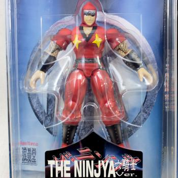 KINNIKUMAN THE NINJA Rokkishi Red ver Romando PVC Action Figure JAPAN ANIME