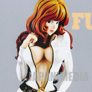 Lupin the 3rd Mine Fujiko Groovy Baby Shot Figure White Banpresto JAPAN ANIME