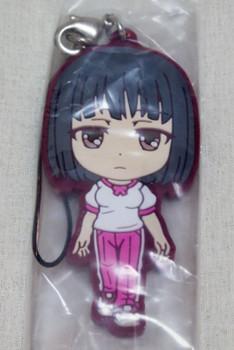 To aru Kagaku no Railgun Rikou Takitsubo Rubber Strap Banpresto JAPAN ANIME