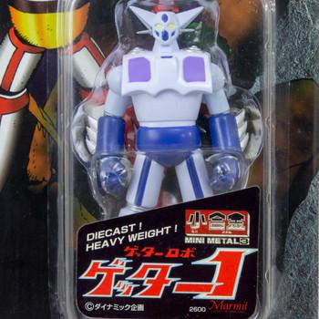 Getter Robo #1 Diecast Heavy Weight Figure Super Robot Mini Metal 3 Marmit JAPAN