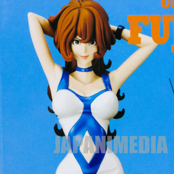 Lupin the 3rd Fujiko Mine Groovy Baby Shot Figure Azzurro Banpresto JAPAN