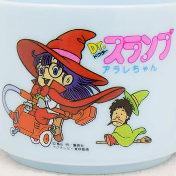 Dr. Slump Arale chan Retro Plastic Mug Light Blue Ver. JAPAN ANIME MANGA