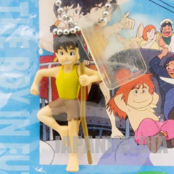 RARE! Future Boy Conan Mini Figure Keychain JAPAN ANIME HAYAO MIYAZAKI
