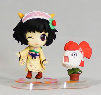 Hoozuki no Reitetsu Coolheadedness Peach Maki & Kingyoso Chibi Kyun Chara Figure