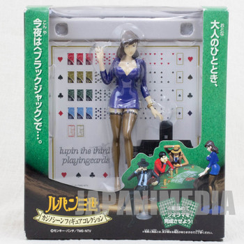 Lupin the 3rd third Fujiko Mine Casino Scene Figure Banpresto JAPAN ANIME MANGA