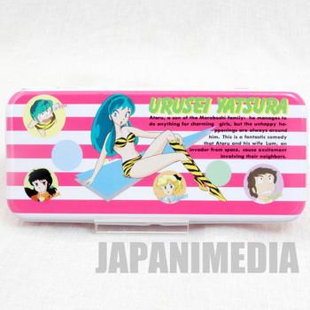 Retro RARE Urusei Yatsura Pen Case LUM JAPAN ANIME MANGA 5