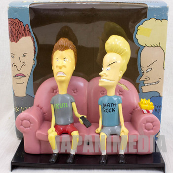 Beavis And Butt-Head on Couch Sofa TV's Talkers Figure MTV ANIME
