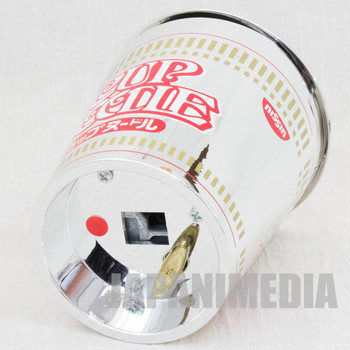 "RARE! Nissin Cup Noodle Package type Music Box ""First Love"" Limited JAPAN"