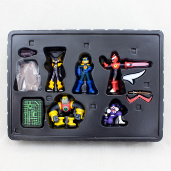 Rockman Exe Megaman Rockin' Box Figure Set BANDAI JAPAN GAME NES