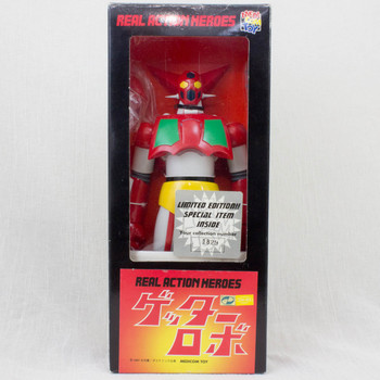 Getter Robo #1 Real Action Heroes Figure Medicom Toy JAPAN ANIME MANGA NAGAI GO