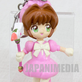 "Cardcaptor Sakura Battle Costume B Mascot Figure 3"" Keychain Clamp JAPAN ANIME"