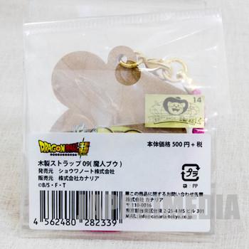 Dragon Ball Z Majin Boo Wooden Mascot Charm Strap JAPAN ANIME MANGA