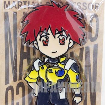 Martian Successor NADESICO Akito Tenkawa Mascot Acrylic Keychain JAPAN ANIME
