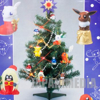 "Pokemon X'mas Christmas Tree Set 23"" Tomy Pikachu JAPAN POCKET MONSTERS"