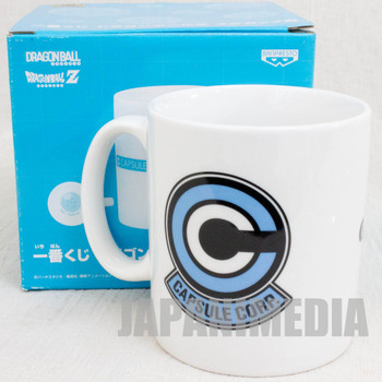 Dragon Ball Z Mug Banpresto Capsule Corporation Mark JAPAN ANIME MANGA