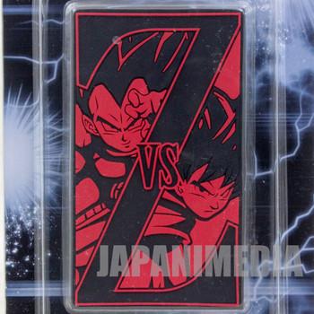 Dragon Ball Z Rubber Deco Sheet Sticker Vegeta vs Gokou Banpresto JAPAN ANIME