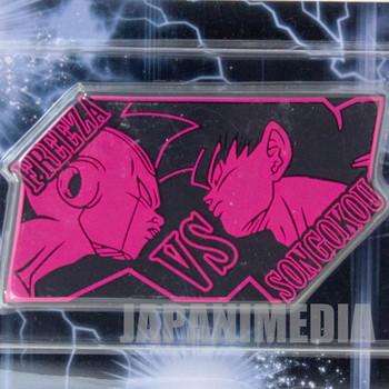 Dragon Ball Z Rubber Deco Sheet Sticker Freeza vs Gokou Banpresto JAPAN ANIME