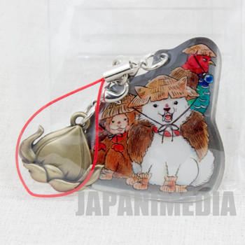 Hoozuki no Reitetsu Shiro Dog Metal Plate Mascot Strap JAPAN ANIME MANGA