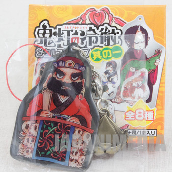 Hoozuki no Reitetsu Enma Daiou Metal Plate Mascot Strap JAPAN ANIME MANGA