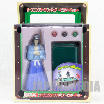 Lupin the Third (3rd) Goemon Ishikawa Opening Scene Billiards Figure JAPAN ANIME MANGA 2