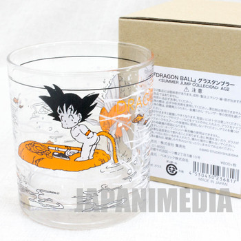 Dragon Ball Z Son Gokou Boy Rock Glass Summer Jump Collection JAPAN ANIME