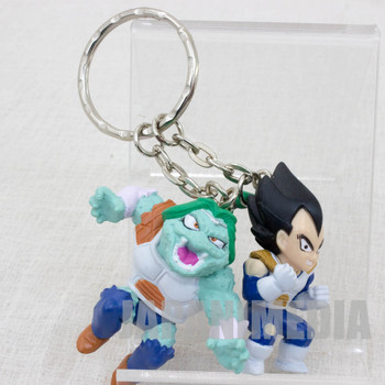 Dragon Ball Z Vegeta + Zarbon Twin Figure Key Chain JAPAN ANIME MANGA