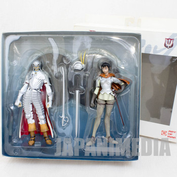 Berserk Armor equipped Griffith & Casca Figure Set Art of War JAPAN ANIME MANGA