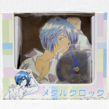 Evangelion Rei Ayanami Pajamas Picture Metal Clock SEGA JAPAN ANIME1