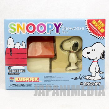 Snoopy Dog House Kubrick Showcase Vol.6 Medicom Toy Figure JAPAN