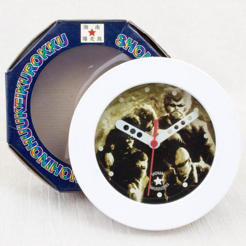 RARE! Shonan Bakuso Zoku Retro Wall Clock 2 JAPAN ANIME MANGA TOORU FUJISAWA