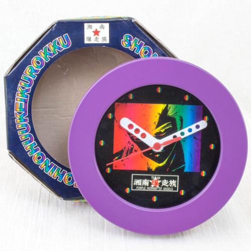 RARE! Shonan Bakuso Zoku Retro Wall Clock 3 JAPAN ANIME MANGA TOORU FUJISAWA