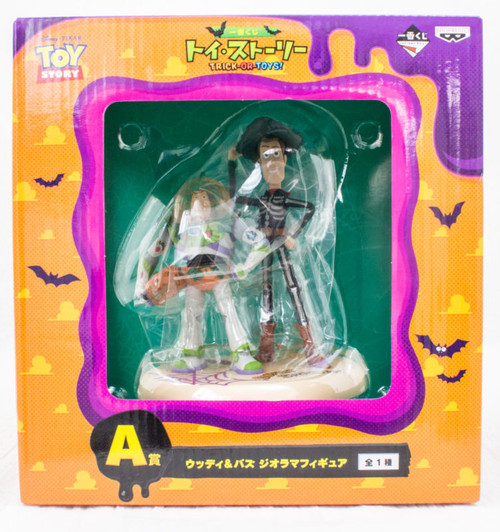 Disney Pixar Toy Story Buzz Lightyear & Woody Diorama Figure Halloween Ver.