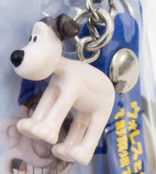 Wallace & Gromit Movie 2006 limited Mascot Figure Strap JAPAN Ardman ANIME