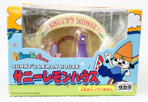Parappa The Rapper Sunny's Lemon House Miniature House Figure JAPAN GAME