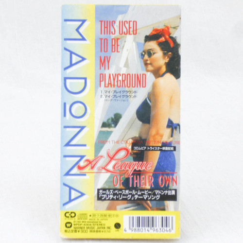 Madonna This Used To Be May Playground 3 inch 8cm JAPAN CD WPDP-6304