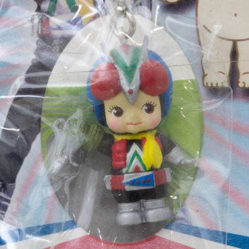 Kamen Rider Riderman Rose O'neill Kewpie Kewsion Strap JAPAN