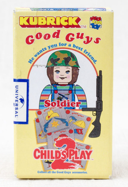 Child's Play 2 Good Guys Soldier Chucky Figure Kubrick Medicom Toy JAPAN ANIME