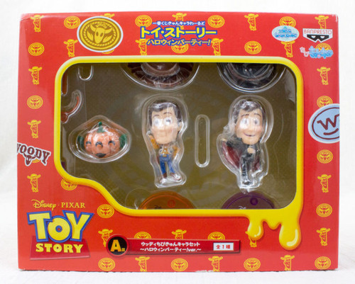 Disney Pixar Toy Story Woody Chibi Kyun Chara Figure Halloween Ver. JAPAN ANIME